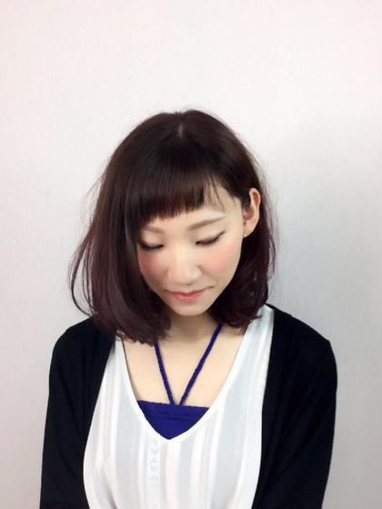 松本平太郎美容室所属・潮田健のスタイル