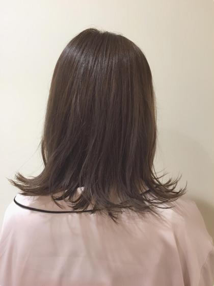 ベージュアッシュ Neolive  JuQ所属・澤優希のスタイル
