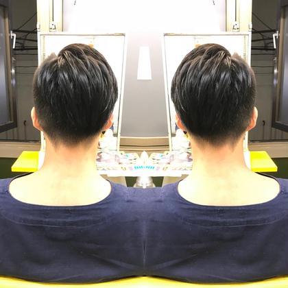 アシンメトリー❤️ 西坂絵里のメンズヘアスタイル・髪型
