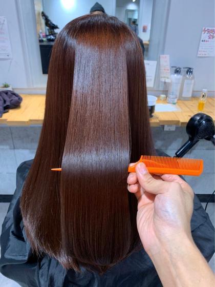 💕今話題の髪質改善トリートメント💕艶髪でサラサラのモテモテ女子に😍😍【炭酸スパ付き】