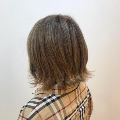 【脱!黒髪】ブリーチ込み 透明感ダブルカラー