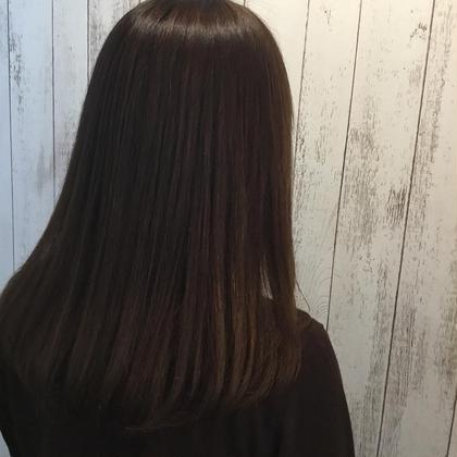 カット & 潤艶トリートメント&炭酸泉シャンプー「#アオハル」