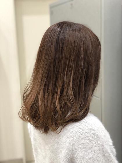 Ash関内店所属・トップスタイリスト山内亜紀子のスタイル