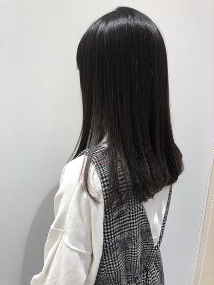 【うねり解決✨】カット+ストレートor縮毛矯正