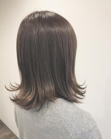 【#アオハル ミニモ人気NO.1】カット+カラー+トリートメント+極潤コラーゲン