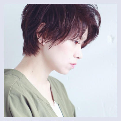 🌿オーガニックカラー(白髪染め)+カット