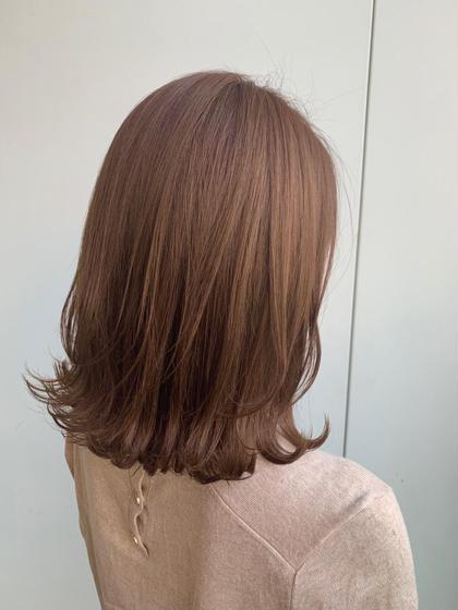 ✨似合わせカット&全体カラー(最新カラー剤使用✨)&3step髪の毛修復トリートメント❗️