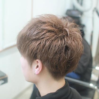 直毛でセットしにくい方にオススメのパーマ☆ セットがとってもしやすくなりますよ!  dRAWER所属・山田美沙紀のスタイル