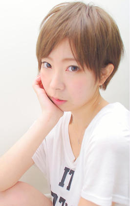 ☆簡単スタイリングで可愛いショート☆ micca所属・⭐︎市橋享⭐︎のスタイル