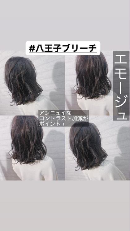 【新規土日祝日限定メニュー】カット+ダメージケアカラー+2stepトリートメント👩🏻