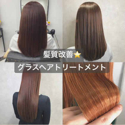 〔  treatment  ⭐️  〕髪質改善🔥!グラスヘアトリートメント