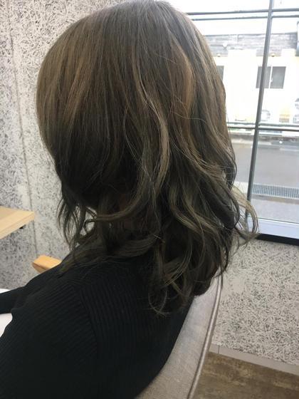 春にむけて柔らかいオリーブベージュ❤︎❤︎ カノエ 松江学園店所属・藤平一恵のスタイル
