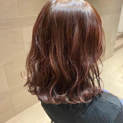 🌷大人気🌷うるツヤに合わせカラー+髪質改善トリートメント