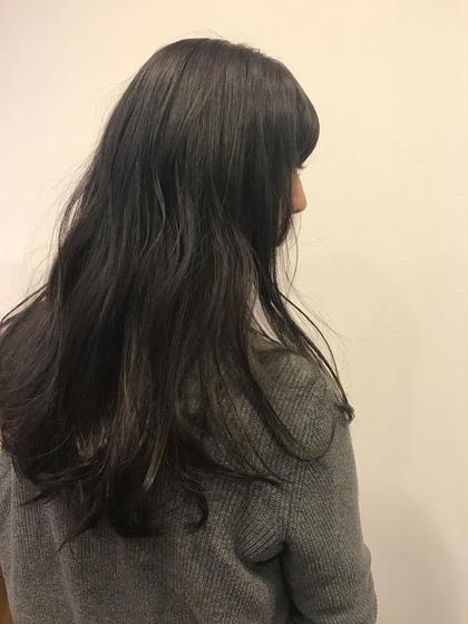 暗染でダークグレージュに☺︎ U Hair三軒茶屋所属・眞田裕里のスタイル