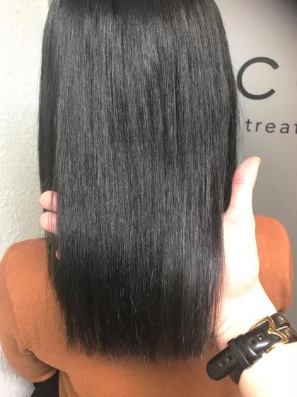 カラー ミディアム cut / dark gray / tokio de sinka✂︎ ベース.ハイライト 切れ毛のあるハイダメージ毛でも最高の質感に⭕️
