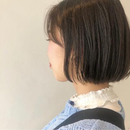 ☆夏秋にむけて💙似合わせ小顔CUT + ストレートパーマ+ 艶感ケアトリートメント💘