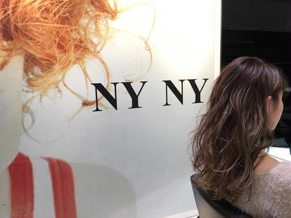 レイヤーを入れてあげることにより髪に躍動感をプラス!  カラーはWカラーでほんのりピンクアッシュ✨ 大人気イルミナカラー使用!!! NYNY所属・岩破瑞希のスタイル
