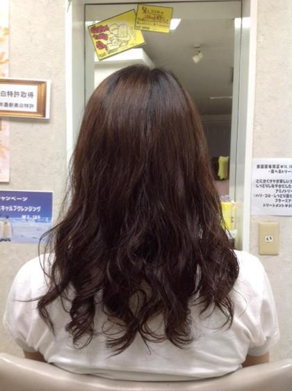 ゆるふわパーマ♪ salon de an ally所属・西田佳奈子のスタイル