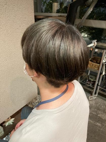 【4/7,4/30 15時半から限定】ヘアカラー デザインカラー、白髪染めも可  無料