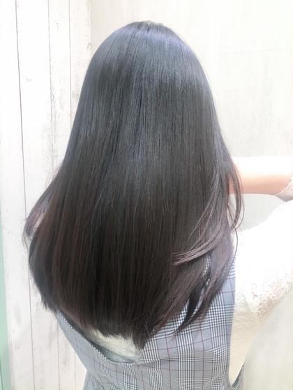 『再現性カット』と『ダメージレスな縮毛矯正』湿気に負けないツヤツヤ美髪を♪♪