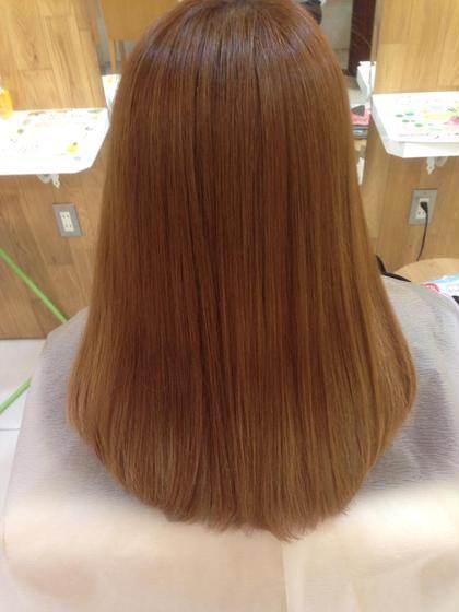 髪質改善*カット+髪質改善トリートメントストレート*¥10000*ダメージ補修シャンプー+アルカリ除去付き