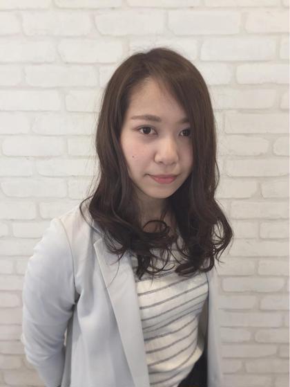エアリーグレージュで軽やかに⭐️ HAIR&MAKE EARTH宮崎昭栄店所属・アカミネリュウタロウのスタイル