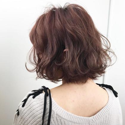 スウィートブラウン gif. hair所属・中村匠のスタイル
