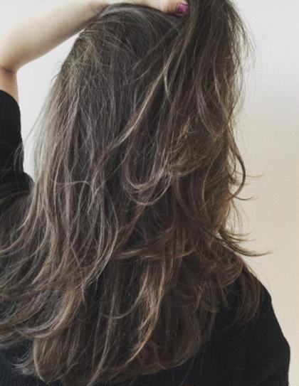 外国人風 ムラムラカラー♡ ハイライトでより立体的に♡ HAIR&MAKE  ZEST所属・市川夢のスタイル