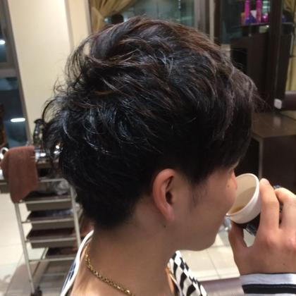 ふるかわまりのメンズヘアスタイル・髪型