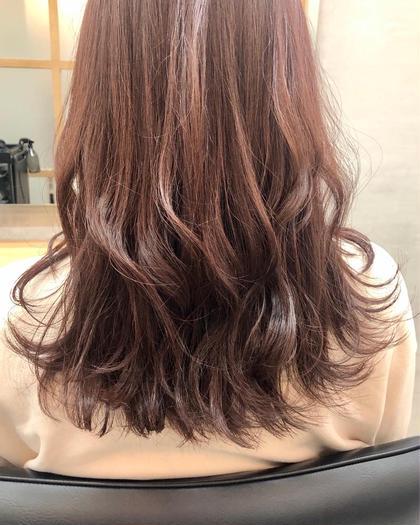 前髪カット+イルミナorエヌドットカラー