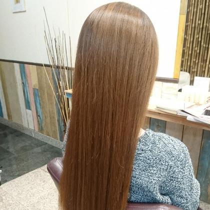 【☆オススメ☆】髪質改善トリートメント+美髪オーガニックオイルカラー