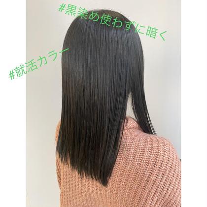 【✨色持ち長持ち✨艶色✨】スローカラー+トリートメント