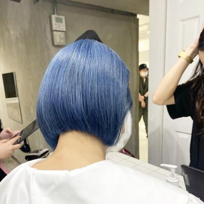 🌈メンテナンスカット+ブリーチ+カラー+2stepトリートメント⭐️ [3回目までok] 髪を伸ばしていきたい方に〻
