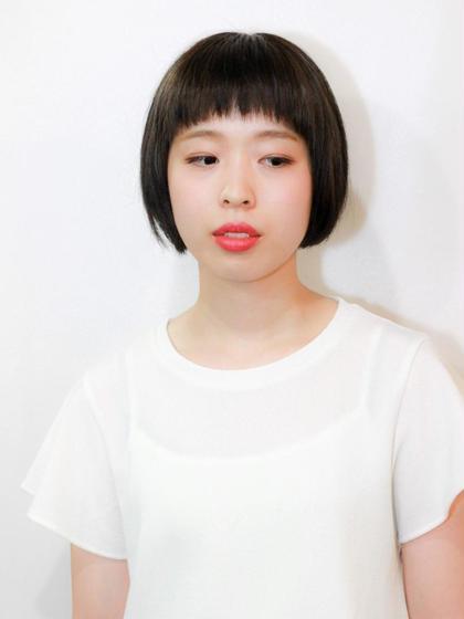 ショートバングボブ☆ zinghair /  shinkoiwa所属・村本詳裕のスタイル