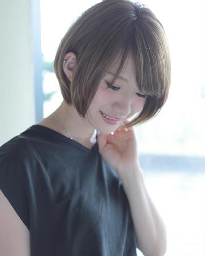 ⭐️外国人風グレージュヘアカラー⭐️前髪カット付き⭐️