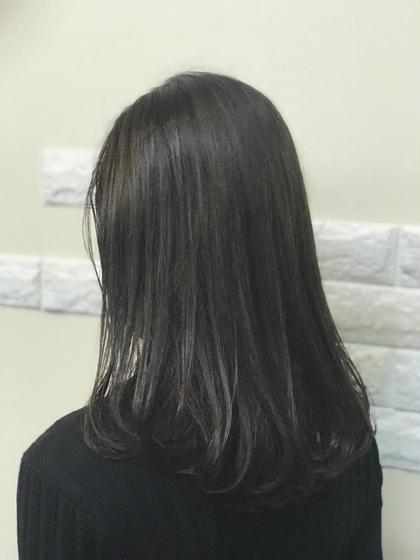 【新規おすすめ】デザインカット+艶色カラー