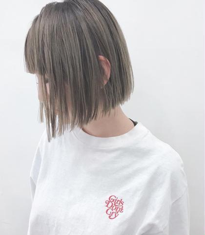 ✨ミニモ限定✨透明感&今旬質感✨アドミオカラー★イルミナカラー★アディクシー&前髪カット