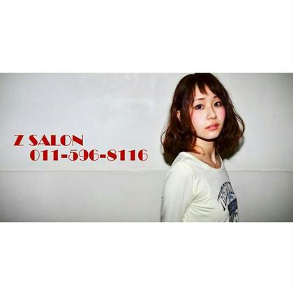 ふんわりパーマで楽オシャスタイル Z SALON所属・葛西ユーキのスタイル