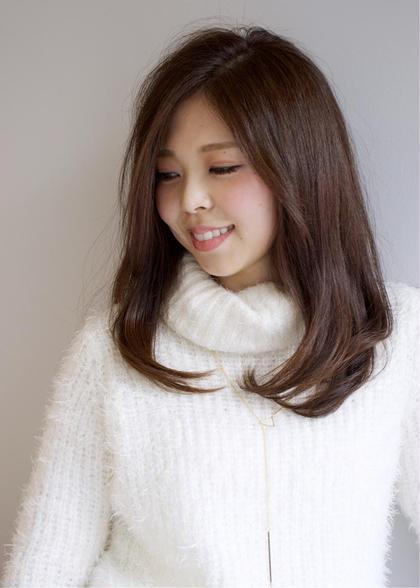 シンプルストレートタッチ^_^ Total Beauty LIT所属・永山諒のスタイル