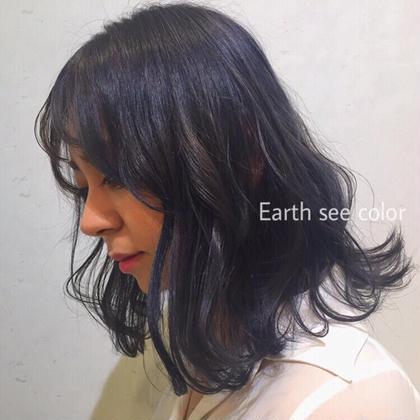 ⭐️人気No.2⭐️カット+外国人風アディクシーカラー (外国人の女の子みたいな透明感のある髪へ🇫🇷🌿)