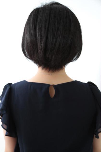 黒髪 ショート ボブ ALTI    CORNATURE所属・金井真澄のスタイル