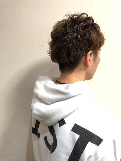【メンズ限定】【オススメ】デザインカット・ツイストパーマ
