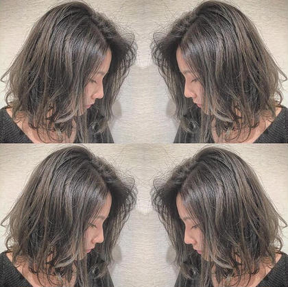 ✔️【カラーメイン&ちょっと印象を変えたい方】?前髪カット & イルミナカラー&色持ちトリートメント?