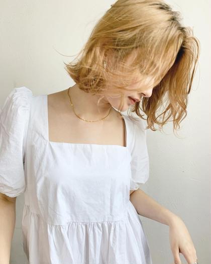 【新規限定❕¥3300】透明感カラー+髪質改善トリートメント✨
