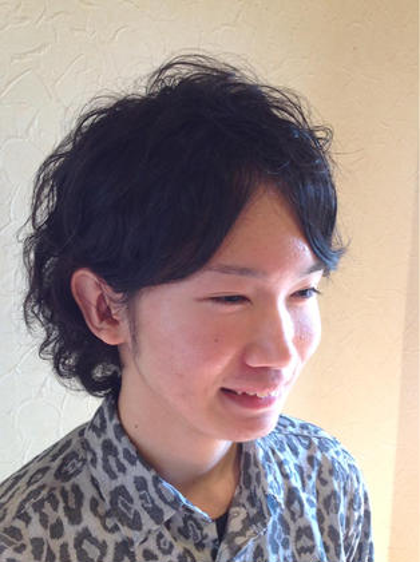 【Hizuki】オリジナルパーマ(カット、トリートメント込み)