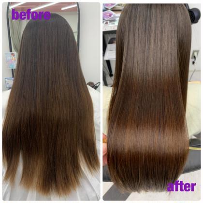 ☘髪質改善 プレミアム☘酸熱トリートメントの最高級品✨ツヤ★★★