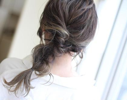 簡単ゆるふわアレンジ hair salon LISALISA所属・武田龍二のスタイル