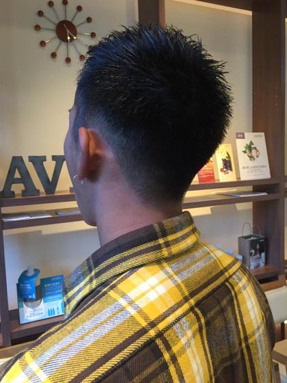メンズ刈り上げショート BE AREA所属・土屋慶介のスタイル