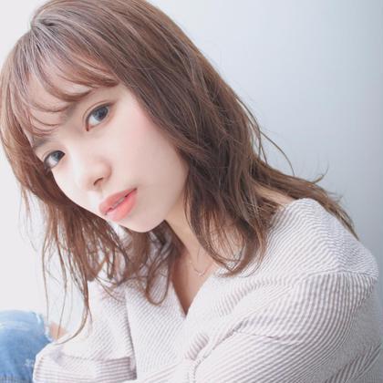 ♡2月限定♡カット + 透明感カラー +最高級Aujuaトリートメント