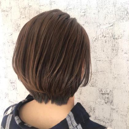 【髪質改善🌈ショート】カット&イルミナカラー &oggi ottoトリート